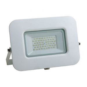 Optonica Projecteur LED 30W (150W) Blanc Premium Line IP65 2550 lumens | Blanc - Blanc Chaud (2800K)