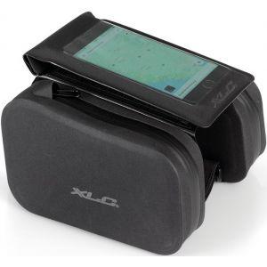 XLC Frame Bag with Phone Cover, black Sacoches de cadre