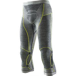 X-Bionic Apani Merino Fastflow Sous-vêtement Homme jaune/gris L/XL Sous-pantalons longs
