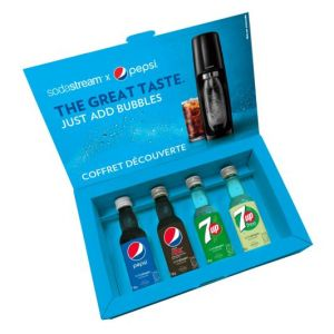 Sodastream Coffret Decouverte Pepsi