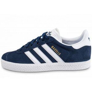 Adidas Gazelle C, Chaussures de Fitness Mixte Enfant, Bleu (Maruni/Ftwbla 000), 28 EU