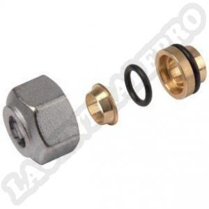 Giacomini Adaptateur cuivre droit Ø 16 mm - Série R178