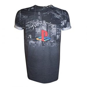 T-Shirt 'Playstation' - Logo Classic - Taille XL