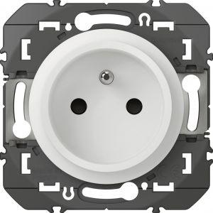 Legrand Prise de courant 2P+T composable faible profondeur Dooxie -Blanc