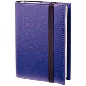 Quo Vadis 565081Q - Agenda 10x15 Time & Life Sept Pocket, avec répert., FR, élastique de fermeture, coloris violet