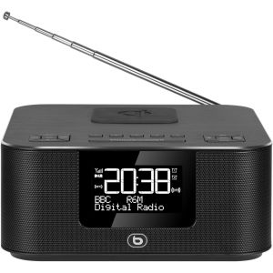 EssentielB RRV-300DAB+ - Radio réveil charge induction