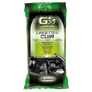 GS27 20 lingettes nettoyantes cuir Classics