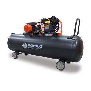 Daewoo DAC300C - Compresseur 300 litres à couroie bi-cylindre en V 2200W 230V