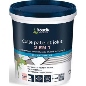Bostik Colle pâte et joint carrelage - blanc - 1.5 Kg - Colle carrelage