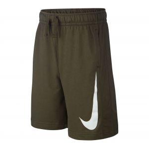 Nike Short en molleton Sportswear Garçon - Gris - Taille S - Male
