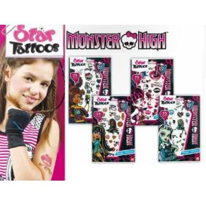 AS Tatouage Star Tatoos Monster High (modèle aléatoire)