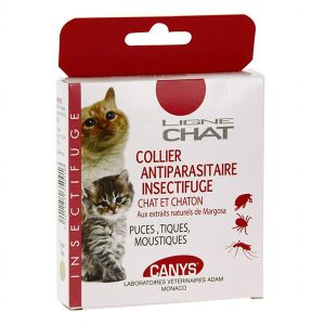 Image de Asepta Canys Ligne Chat Collier antiparasitaire insectifuge