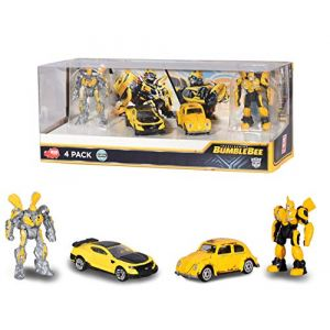 Smoby Coffret 2 Figurines 1/64 ème - Transformers Bumblebee - Bumblebee