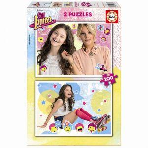 Educa Soy Luna - Puzzle 2 x 100 pièces