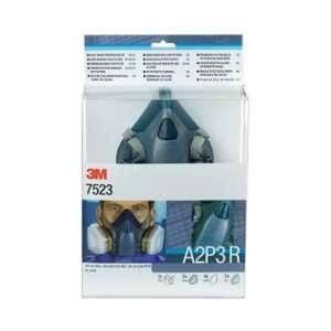 3M Kit demi-masque réutilisable Premium série 7500 A2P3 7523M - taille moyenne