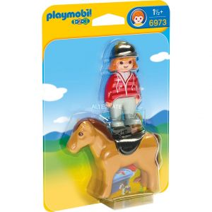 Image de Playmobil 6973 - Cavalière avec cheval