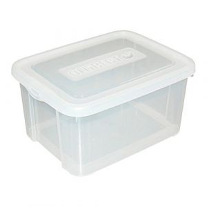 Allibert 187876 Handy Box 25 L avec Couvercle Polypropylène Transparent