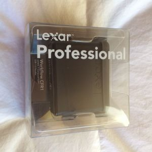 Lexar Workflow Card Reader CF CFR1 Professional USB 3.0
