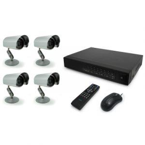 Avidsen Enregistreur numérique filaire 8 voies + 4 caméras
