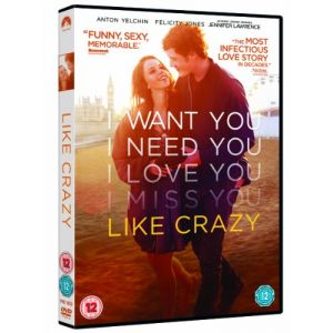 Like Crazy [Edizione: Regno Unito] [Import anglais] [DVD]