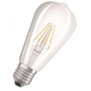 Osram Ampoule LED E27 4058075809635 forme conique 7 W = 60 W blanc chaud (Ø x L) 64 mm x 145 mm EEC: classe A++ à intens