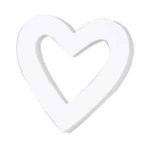 decopatch Petit coeur vide en papier mâché