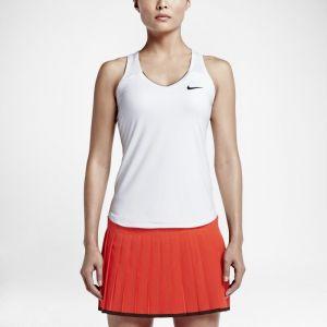 Nike Débardeur de tennis Court Team Pure pour Femme - Blanc - Taille M - Femme
