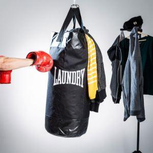 Manta design Sac à linge Punching ball (30 x 100 cm)