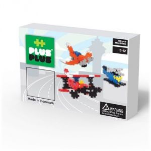 Plus Plus Box Mini Basic Aviation 170 pièces