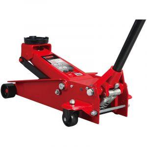 Mw-tools Cric rouleur hydraulique 3 t double pompe CATM300D