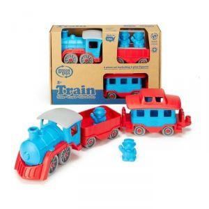 Kanaï Kids Le Train bleu Green Toys (6 pièces)