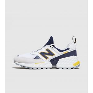 New Balance Chaussures casual 574 Blanc / Bleu marine - Taille 44,5