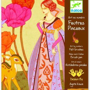 Djeco Feutres pinceaux - Contes et légendes