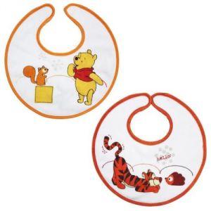 Babycalin 2 bavoirs ludiques Winnie et Tigrou