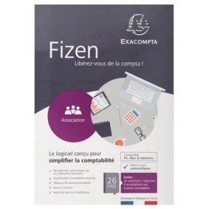 27004E - Logiciel de comptabilité Fizen, pour Association, compatible PC, Mac et tablettes [Windows, Mac OS]