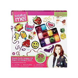 Totally Me Kit création Badges Sequins