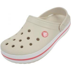 Crocs Crocband, Sabots Mixte Adulte, Beige (Stucco/Melon), 37-38 EU