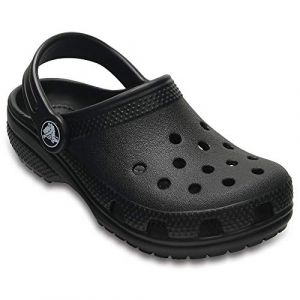 Image de Crocs Classic Clog Kids, Sabots Mixte Enfant, Noir (Black), 27-28 EU