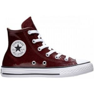 Converse CTAS Hi Mixte Enfant, Multicolore (Dark Burgundy/Natural/White 613), 25 EU