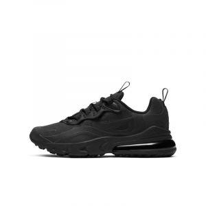 Nike Chaussure Air Max 270 React pour Enfant - Noir - Taille 35.5