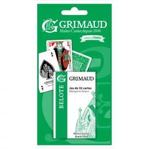 France Cartes Grimaud Origine Belote 32 cartes