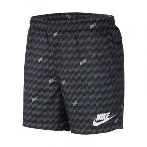 Nike Short imprimé tissé Sportswear pour Homme - Noir - Taille L - Male