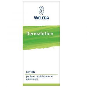 Weleda Dermalotion - Lotion purifiante et réduit boutons et points noirs