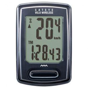 Cateye Compteur Velo Wireless CC-VT 230 W - Noir