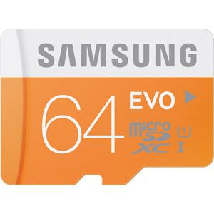 Samsung MB-MP64D - Carte mémoire microSDXC EVO 64 Go classe 10