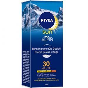 Nivea Sun Alpin - Crème solaire visage fps30