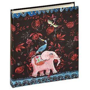 Panodia 271161 Elephant Artist Album Pochettes pour 100 Photos Noir 11,5 x 15
