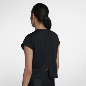 Nike Haut de runningà manches courtes Tailwind pour Femme - Noir - Taille XS - Femme