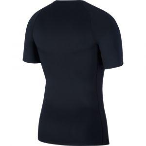 Nike Haut à manches courtes Pro pour Homme - Noir - Taille S - Male