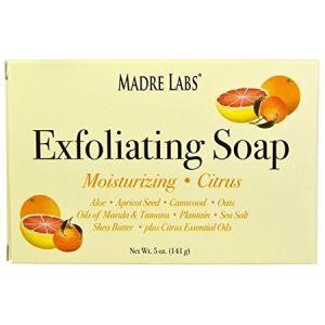 Madre Labs Exfoliating soap citrus